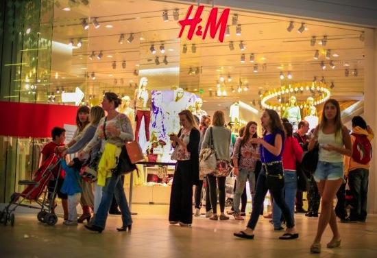 LLEGADA DE H&M A CHILE