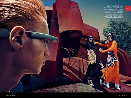 VOGUE NOS MUESTRA EL LADO FASHION DE GOOGLE GLASS