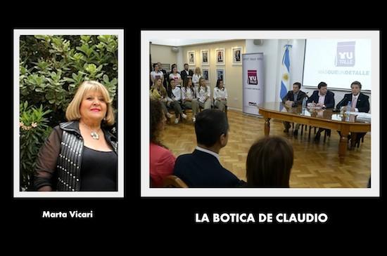 LA BOTICA DE CLAUDIO ADHIERE A LA LEY DE TALLES