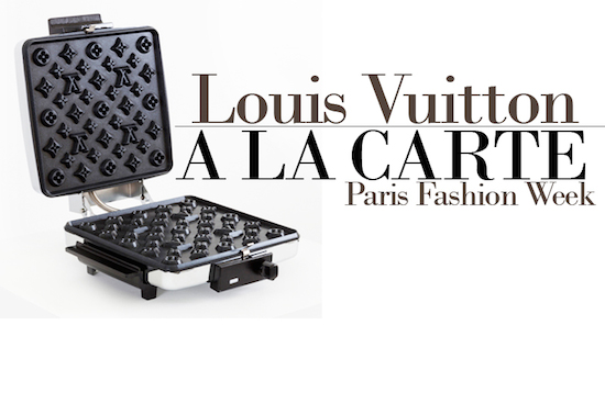 LOUIS VUITTON A LA CARTE