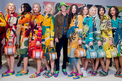 BURBERRY PRORSUM EN LA FASHION WEEK DE LONDRES