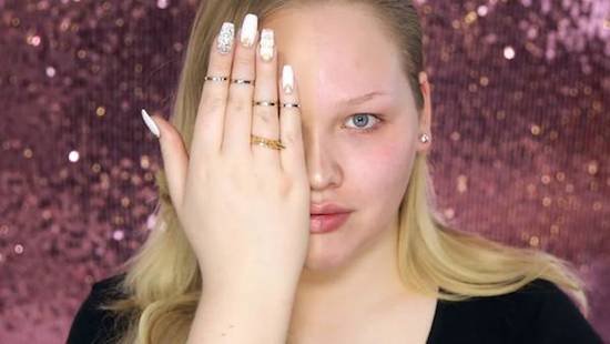 Video donde muestra la maravillosa transformación del maquillaje