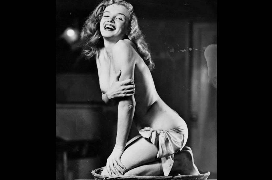 Fotos inéditas de Marilyn Monroe a los 19 años