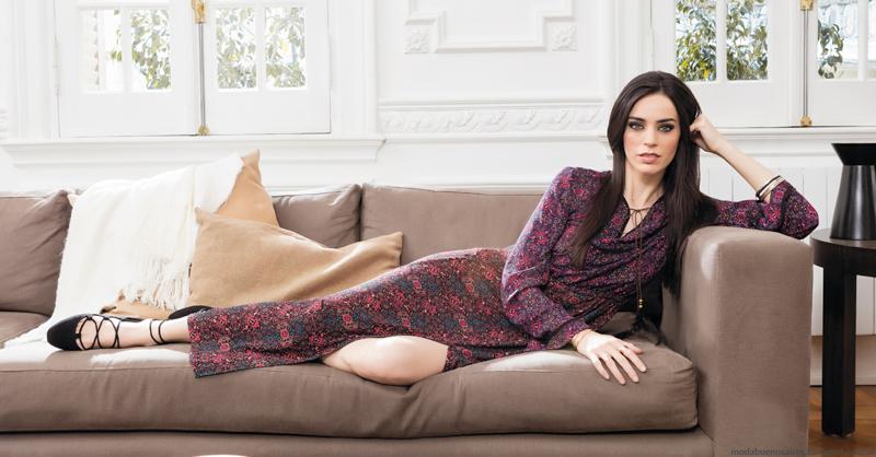 Maxi vestidos otoño invierno 2016 Nucleo Moda