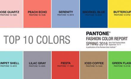 Colores que se imponen para ésta Primavera Verano 2016/2017
