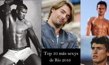 Los Top 10 más sexys de Río 2016
