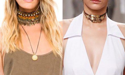 CHOKER: el collar de moda