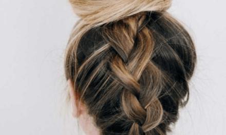 Trenza invertida: el peinado del verano
