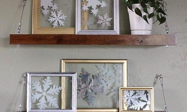 Ideas para decorar con marcos ésta Navidad