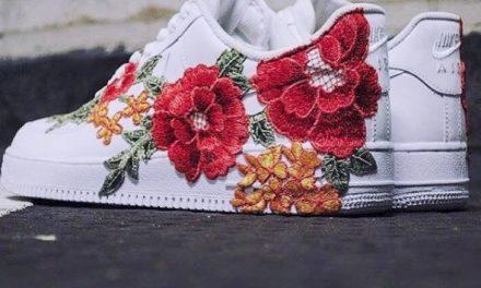 Zapatillas florales de Gucci