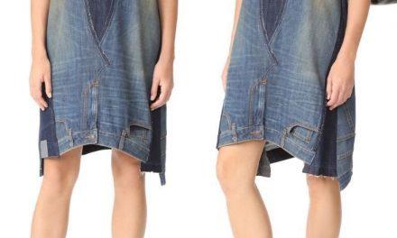 El vestido de jeans que hace furor en el verano europeo