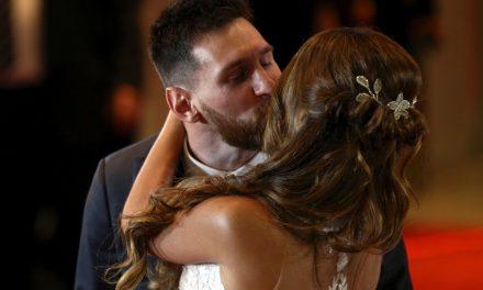 Las mejores fotos  del casamiento de Lionel Messi y Antonela Rocuzzo