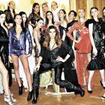 Florencia De a V lanzó su marca de ropa en el Fashion Week