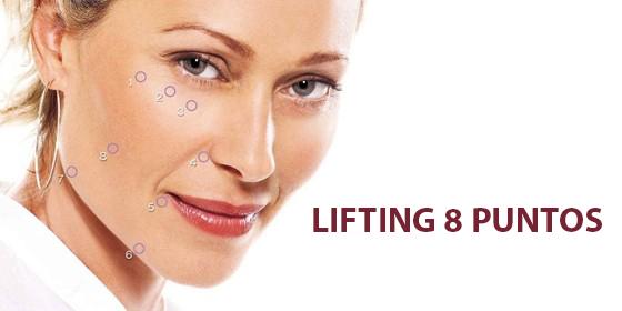 Lifting de 8 puntos: lo último en rejuvenecimiento facial